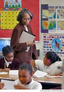Lorraine Monroe supervisando - Liderazgo educativo - Selvv