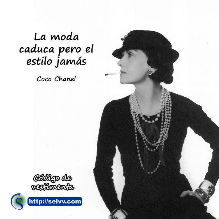 Coco Channel - Código de vestimenta - Selvv