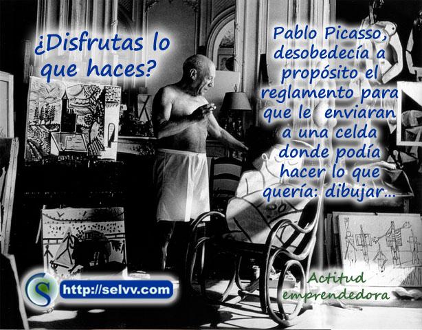 Picasso - Actitud emprendedora - Selvv
