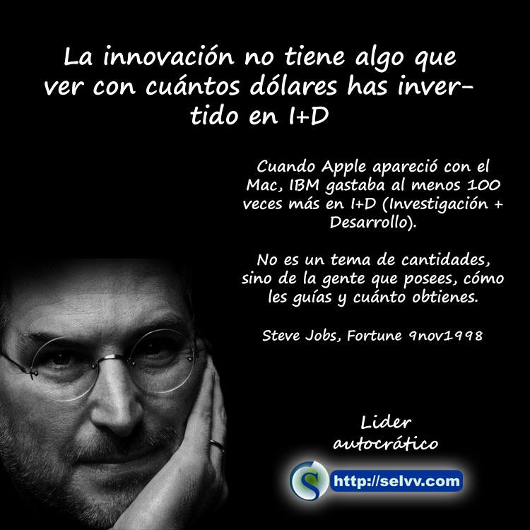 Steve Jobs 2 - Líder autocrático - Selvv