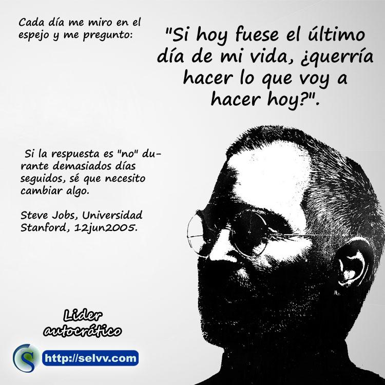 Steve Jobs 3 - Líder autocrático - Selvv