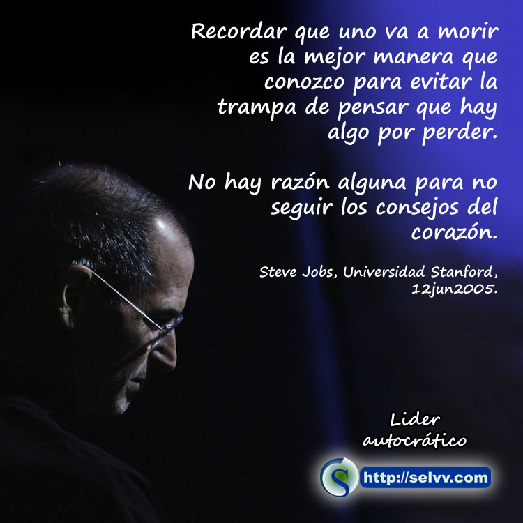 Steve Jobs 4 - Líder autocrático - Selvv