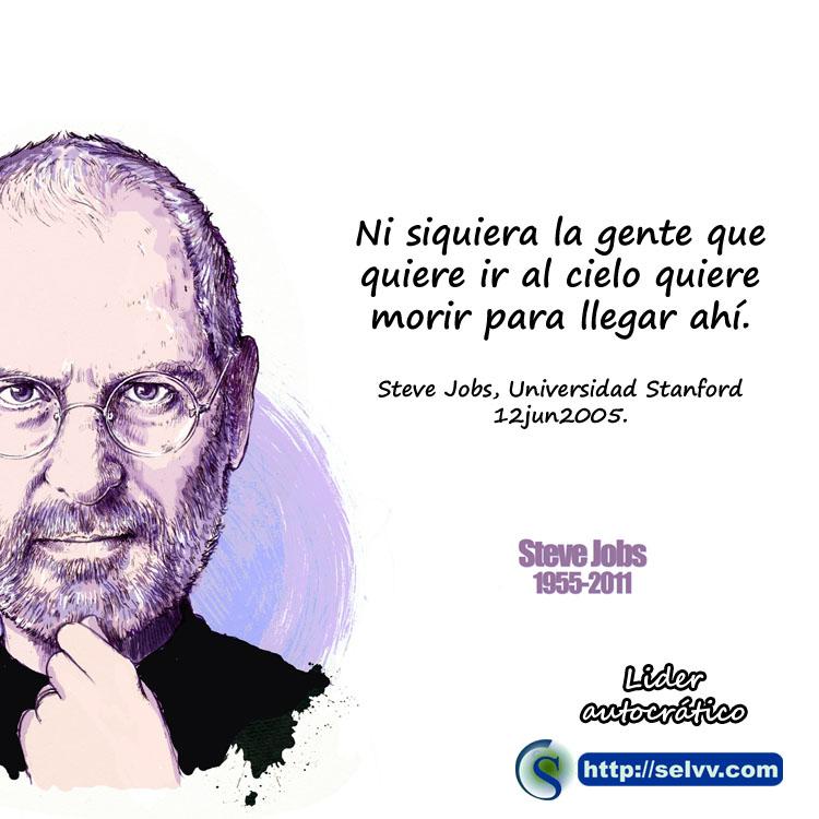 Steve Jobs 5 - Líder autocrático - Selvv