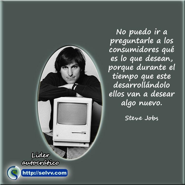 Steve Jobs 6 - Líder autocrático - Selvv