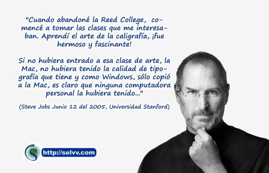 Steve Jobs - Actitud emprendedora - Selvv