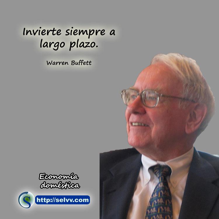 Warren Buffett - Economía doméstica - Selvv